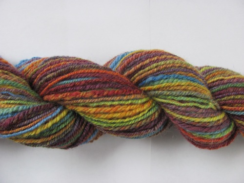 Easter rainbow skein